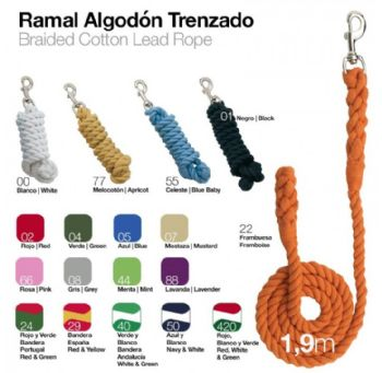 Strong Braided Cotton Lead